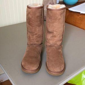 Shoes - Suede/Sheepskin/Shearling boots